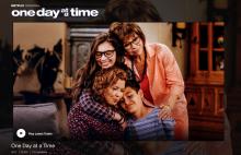 Screenshot from the Netflix Official website