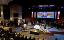Imágenes del servicio fúnebre de George Floyd, el 4 de junio.