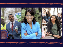 Ritchie Torres, Kristine Reeves, Candace Valenzuela. Photos: Campaign websites