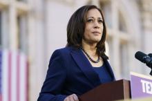 Senator Kamala Harris is officially Biden's VEEP pick. Photo: Getty Images
