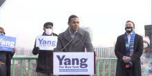 Rep. Ritchie Torres recently announced he'll serve as co-chair of Andrew Yang's NYC mayoral campaign. Photo: Andrew Yang/ Twitter