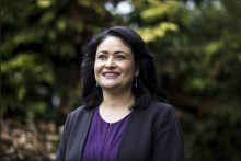 Photo: City Council President M. Lorena González has the endorsement of U.S. Rep. Pramila Jayapal in the race for Seattle mayor. Courtesy: Amanda Snyder/The Seattle Times
