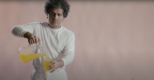 "Screenshot from ""La Naranja"" music video. Photo: Andrew Anderson, Helado Negro"