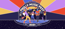 Philly Music Fest 2021 promotional flyer. Photo: Philly Music Fest