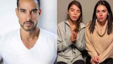 Soap Opera actor Alejandro Sandí and actresses Esmeralda Ugalde and Vanessa Arias, who witnessed the kidnapping.