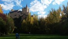 Una de lasbellas panorámicas de Segovia. Foto:Sander Morais