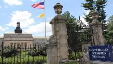 Establecido en 1832, el seminario St. Charles Borromeo es la institución católica de enseñanza superior más antigua de la Arquidiócesis de Filadelfia. Sarah Webb for CatholicPhilly.com.