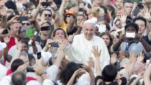 With Pope's visit: 'Be prepared to walk'