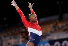 America's most decorated gymnast withdrew from the Olympics for her own mental well being, setting an example for the world. Photo: Getty Images.