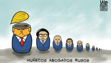 Muñecos abogados rusos