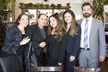 """Immigration attorneys from the documentary """"Status Pending"""". Photo taken from Immigration Resource Center of San Gabriel Valley (IRCSGV)."""