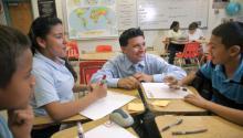 El personal del distrito estará disponible para guiar a los padres de familia a través del proceso de registro, proporcionando recursos e información, además de evaluar las necesidades de los estudiantes que hablen inglés como segundo idioma (ESOL).