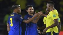 game Colombia vs Brazil for the South American qualifiers to Qatar 2022