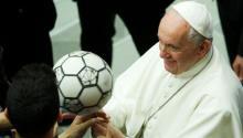 """El Vaticanotambién se postuló sobre el usurero proyecto de liga: """"El dinero termina por arruinarlo todo"""". Photo: Vatican News"""