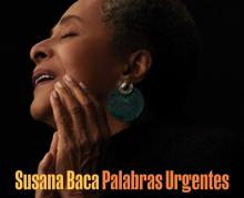 """Cover of the album """"Palabras Urgentes"""" by Afro-Peruvian musician Susana Baca."""