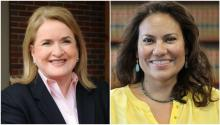 Sylvia Garcia (L), and Verónica Escobar are the two Latina women who with 60% of the votes have become the next candidates for the Texas Congress.