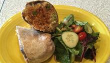 Tinga burrito, one of the house specialties. Photo: Eli Siegel