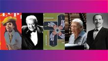 La Lupe, Tito Puente, George Guzmán, Pete Rodríguez y Joe Cuba