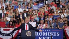 President Donald Trump. EFE
