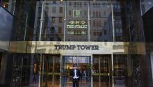 The Trump Tower serves as provisional office for Donald Trump until further notice. Photo: Wikipedia Commons/Bin im Garten
