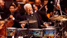 El legendario músico Tito Puente. Photo: Classijazz