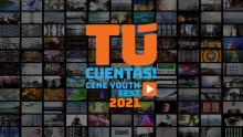 Official poster of the ¡Tú Cuentas! Cine Youth Festival.