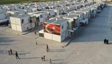 HATAY, TURKEY - SEPTEMBER 16: A general view of the Boynuyogun refugee camp which houses round 8,500 refugees from northern Syrian in 600 houses, on September 16, 2019 in Hatay, Turkey. (Photo by Burak Kara/Getty Images)