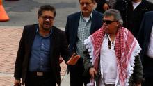 FARC dissidents Iván Márquez and Jesús Santrich Photo from eluniversal.com
