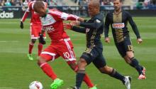 El Philadelphia Union cosechó su primera victoria en casa de la temporadaregular 2016 de la liga MLS el pasado domingo trasganar a New England Revolution 3-0 en elTalen Energy Stadium. Foto Yesid Vargas/AL DÍA News