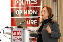 Sara Manzano-Diaz, La ex directora de la Oficina de la Mujer. Foto: Peter Fitzpatrick / AL DÍA News