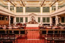 Philadelphia City Council held its first remote general meeting on April 2, 2020 and will do so until COVID-19 restrictions are lifted. Photo: Philadelphia City Council