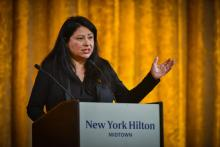 Elia Diaz-Yaeger has positive things to say about President Joe Biden's first actions in office. Photo: Hispanic National Bar Association