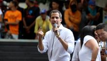 Juan Guaido Urges Venezuela Back Into Protests To Remove Maduro From Power, on November, 2019. Source: Getty