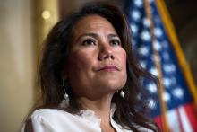 Rep. Veronica Escobar (D-TX) has been fighting misinformation at the border for years. Photo: TOM WILLIAMS—CQ-ROLL CALL, INC/GETTY IMAGES