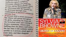 El inquietante libro de Sylvia Browne se ha convertido en un éxito de ventas durante la pandemia. Daily Mail