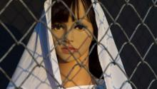 The migrant Virgin Mary by artist John Zachary. Via ABC News.