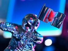 MTV VMA's statuette.