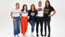 During this electoral cycle, and taking into account the critical situation that the country and the immigrant community in particular are living, characters like Gina Rodriguez, America Ferrera, Zoe Saldana and Eva Longoria, have joined the Voto Latino campaign.