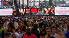 """The concert """"We love NYC: The homecomming"""" was canceled due to hurricane threat. Getty Images."""