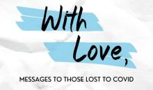 With Love is a new project from Resolve Philly to give Philadelphia residents a chance to write a final goodbye to loved ones lost to COVID-19. Graphic: Resolve Philly