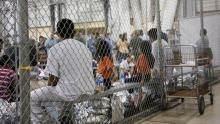 Migrant minors in detention centers in the U.S. Source: AP.