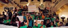 Inmigrantes y refugiados se unen en Harrisburg