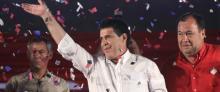 Horacio Cartes juró como presidente de Paraguay